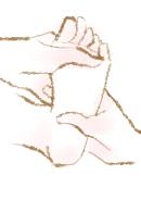 足のつぼを押すリフレクソロジー
